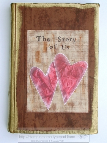 Stampin Mama A Mama That Stamps The Story Of Us An Altered Book